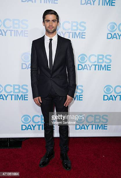 Actor Max Ehrich attends the CBS Daytime Emmy after party at Hollywood Athletic Club on April 26 2015 in Hollywood California