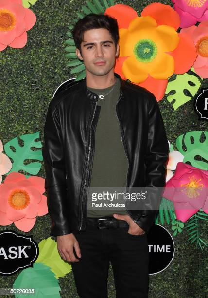 Actor Max Ehrich attends the Lifetime's Summer Luau at the W Los Angeles Westwood on May 20 2019 in Los Angeles California