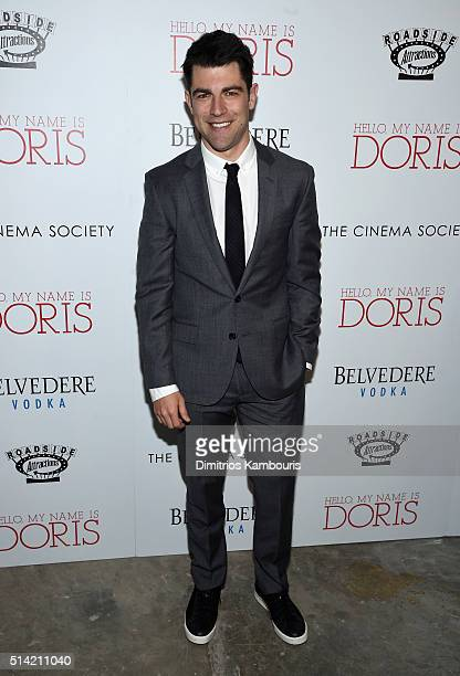 Actor Max Greenfield arrives at the New York premiere of 'Hello My Name Is Doris' hosted by Roadside Attractions with The Cinema Society Belvedere...