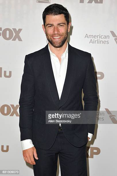 Actor Max Greenfield attends FOX and FX's 2017 Golden Globe Awards After Party at The Beverly Hilton Hotel on January 8 2017 in Beverly Hills...