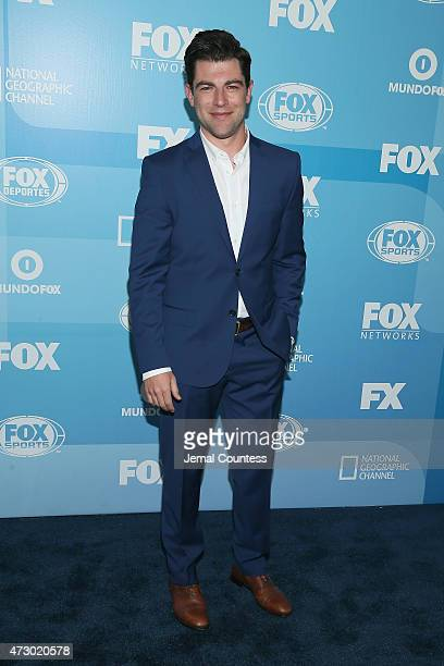 Actor Max Greenfield attends the 2015 FOX programming presentation at Wollman Rink in Central Park on May 11 2015 in New York City