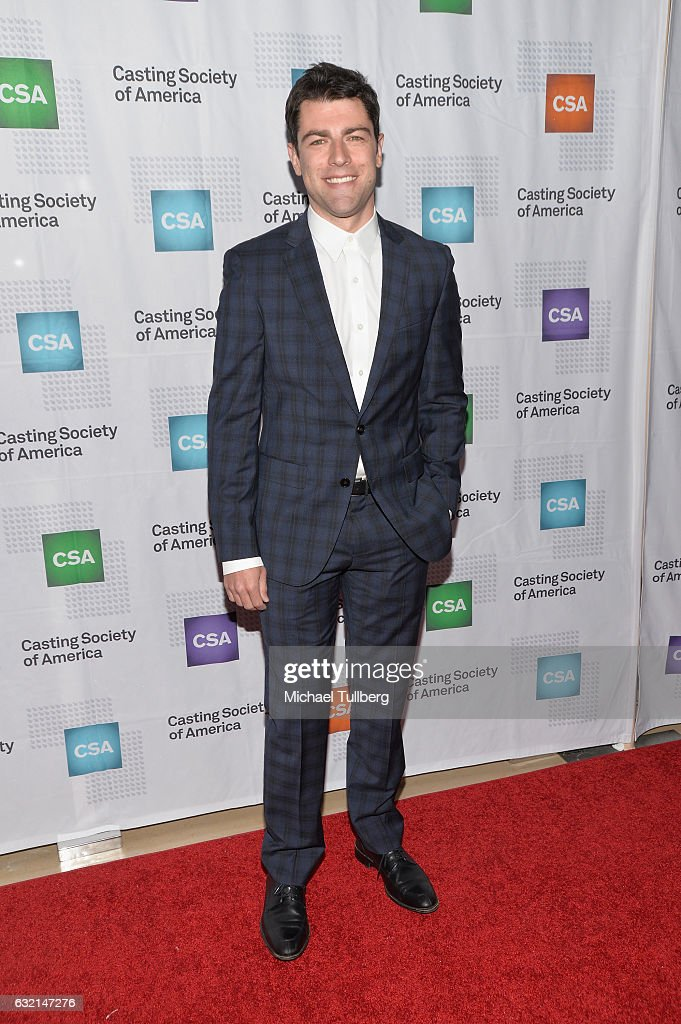 Actor Max Greenfield attends the 2017 Annual Artios Awards at The Beverly Hilton Hotel on January 19, 2017 in Beverly Hills, California.
