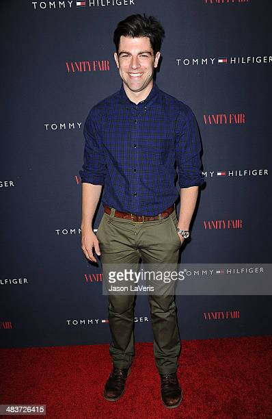 Actor Max Greenfield attends the debut of Tommy Hilfiger's Capsule Collection at The London Hotel on April 9 2014 in West Hollywood California