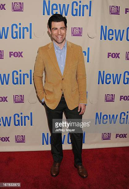 Actor Max Greenfield attends the FOX's 'New Girl' special screening at Leonard H Goldenson Theatre on April 30 2013 in North Hollywood California