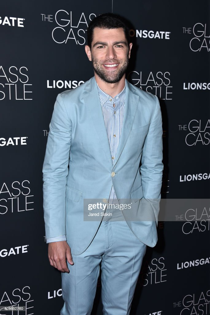 Actor Max Greenfield attends 'The Glass Castle' New York Screening at SVA Theatre on August 9, 2017 in New York City.