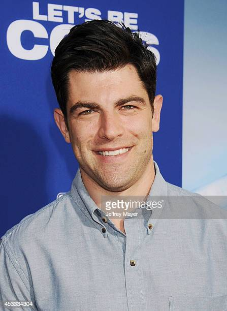 Actor Max Greenfield attends the 'Let's Be Cops' Los Angeles Premiere held at the ArcLight Hollywood on August 7 2014 in Hollywood California