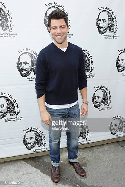 Actor Max Greenfield attends the Los Angeles Drama Club's 2nd Annual Tempest In A Teacup Gala Fundraiser and Benefit performance at The Magic Castle...