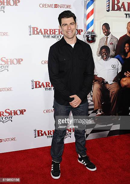 Actor Max Greenfield attends the premiere of 'Barbershop The Next Cut' at TCL Chinese Theatre on April 6 2016 in Hollywood California