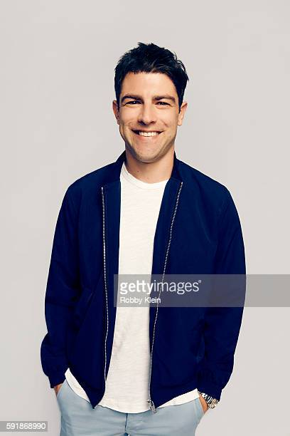 Actor Max Greenfield FOX's 'New Girl' poses for a portrait at the FOX Summer TCA Press Tour at Soho House on August 9 2016 in Los Angeles California