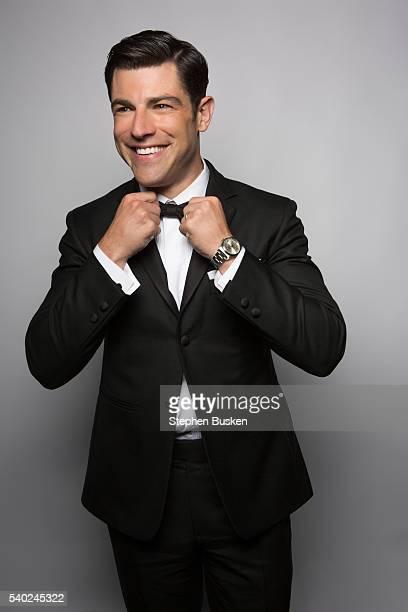 Actor Max Greenfield is photographed for the Emmy Facebook Page on December 18 2012 in Hollywood California