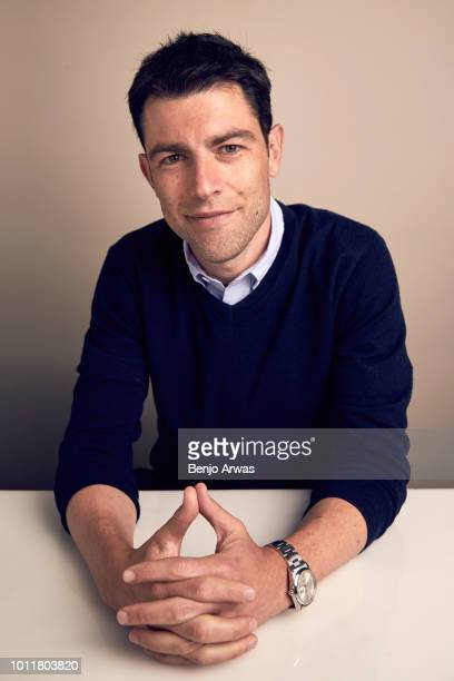 Actor Max Greenfield of CBS's 'The Neighborhood' poses for a portrait during the 2018 Summer Television Critics Association Press Tour at The Beverly...