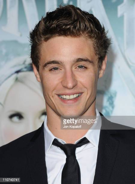 Actor Max Irons arrives at the Los Angeles Premiere 'Sucker Punch' at Grauman's Chinese Theatre on March 23 2011 in Hollywood California
