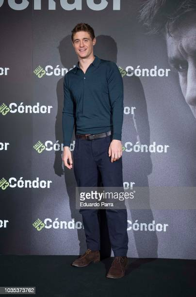 Actor Max Irons attends the 'Condor' photocall at Santo Mauro hotel on September 18 2018 in Madrid Spain