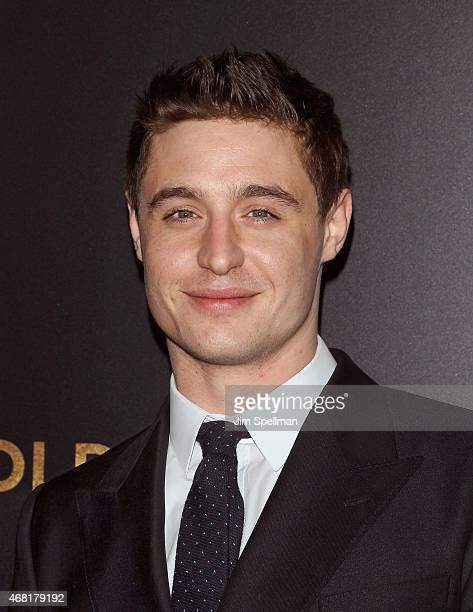 Actor Max Irons attends the 'Woman In Gold' New York premiere at The Museum of Modern Art on March 30 2015 in New York City