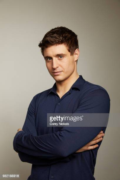 Actor Max Irons from the film Condor poses for a portrait in the Getty Images Portrait Studio Powered by Pizza Hut at the 2018 SXSW Film Festival on...