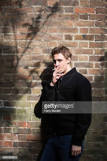 Actor Max Irons is photographed for the Spectator on May 14 2014 in London England