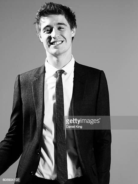 Actor Max Irons poses for Elle Magazine on July 30 2010 in London England