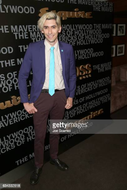 Actor Max Landis attends Esquire's celebration of March cover star James Corden and the Mavericks of Hollywood presented by Hugo Boss at Sunset Tower...