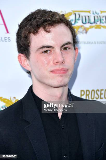 Actor Max MacKenzie attends Bella New York magazine's beauty cover launch at La Pulperia Restaurant on May 29 2018 in New York City