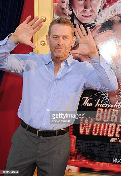 Actor Max Martini attends 'The Incredible Burt Wonderstone' Los Angeles Premiere at TCL Chinese Theatre on March 11 2013 in Hollywood California