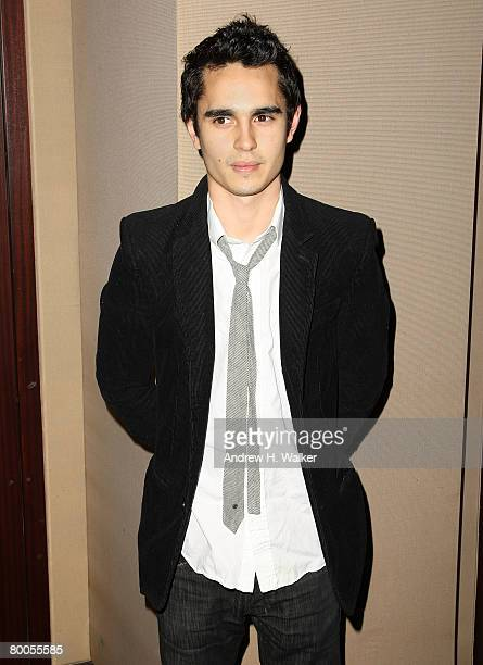 Actor Max Minghella attends a private screening of Elvis Anabelle on February 28 2008 in New York City