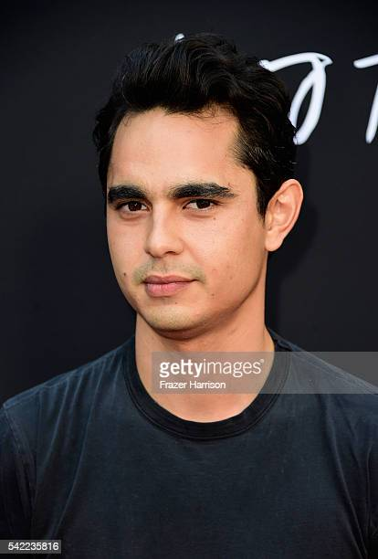 Actor Max Minghella attends A24's Into The Forest premiere at ArcLight Hollywood on June 22 2016 in Hollywood California