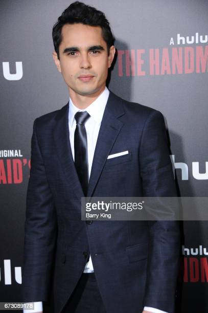 Actor Max Minghella attends premiere of Hulu's 'The Handmaid's Tale' at ArcLight Cinemas Cinerama Dome on April 25 2017 in Hollywood California