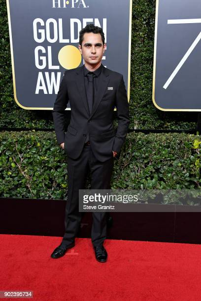 Actor Max Minghella attends The 75th Annual Golden Globe Awards at The Beverly Hilton Hotel on January 7 2018 in Beverly Hills California
