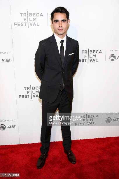 Actor Max Minghella attends the premiere of The Handmaid's Tale during Tribeca Film Festival at BMCC Tribeca PAC on April 21 2017 in New York City