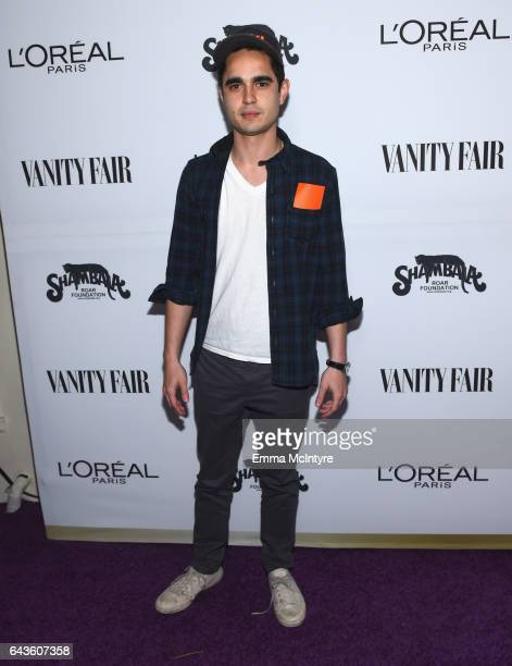 Actor Max Minghella attends Vanity Fair and L'Oreal Paris Toast to Young Hollywood hosted by Dakota Johnson and Krista Smith at Delilah on February...