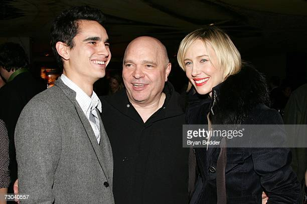 Actor Max Minghella director Anthony Minghella and actress Vera Farmiga attend the after party for the premiere for 'Breaking And Entering' on...