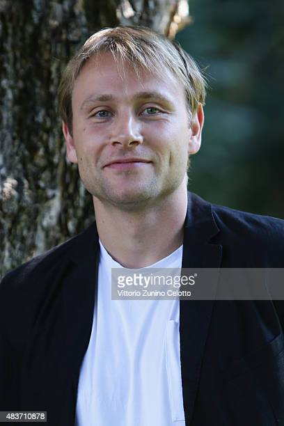 Actor Max Riemelt attends Amnesia photocall on August 12 2015 in Locarno Switzerland