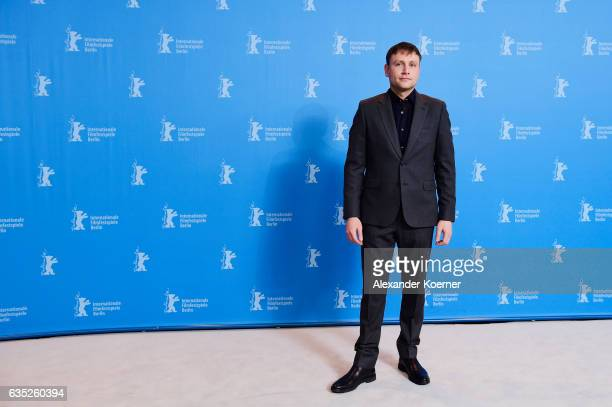 Actor Max Riemelt attends the 'Berlin Syndrom' photo call during the 67th Berlinale International Film Festival Berlin at Grand Hyatt Hotel on...