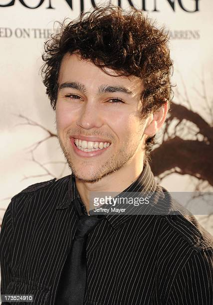 Actor Max Schneider arrives at 'The Conjuring' Los Angeles Premiere at the ArcLight Cinemas Cinerama Dome on July 15 2013 in Hollywood California