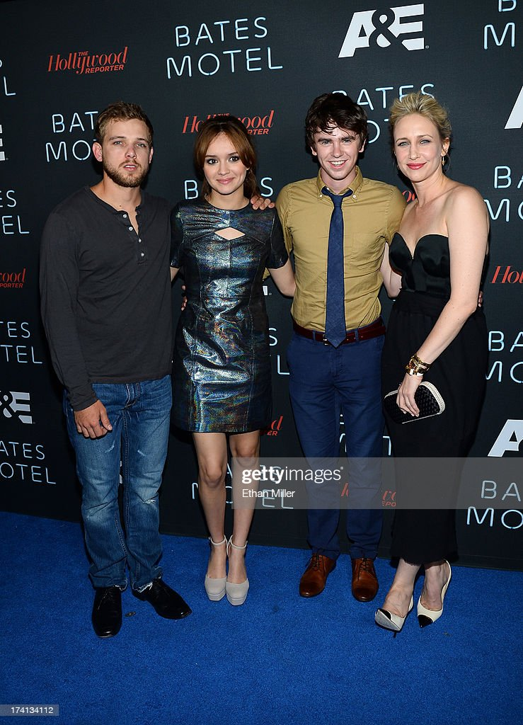 "A&E's ""Bates Motel"" Party - Arrivals - Comic-Con International 2013 : News Photo"