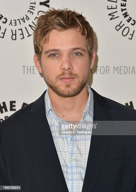Actor Max Thieriot arrivies to The Paley Center for Media Presents Bates Motel Reimagining A Cinema Icon at The Paley Center for Media on May 10 2013...