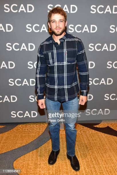 """Actor Max Thieriot attends the """"SEAL Team"""" press junket during SCAD aTVfest 2019 at Four Seasons Hotel on February 09 2019 in Atlanta Georgia"""