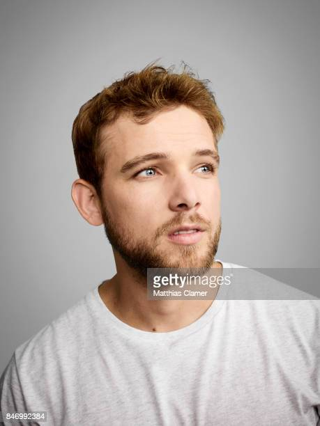 Actor Max Thieriot from 'Bates Motel' is photographed for Entertainment Weekly Magazine on July 22, 2016 at Comic Con in the Hard Rock Hotel in San...