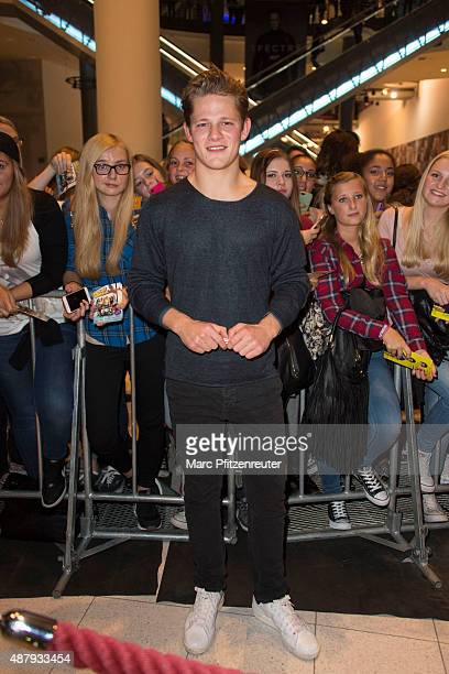 Actor Max von der Groeben attends the 'Fack ju Goehte 2' Cinema Tour at the Cinedom on September 12 2015 in Cologne Germany