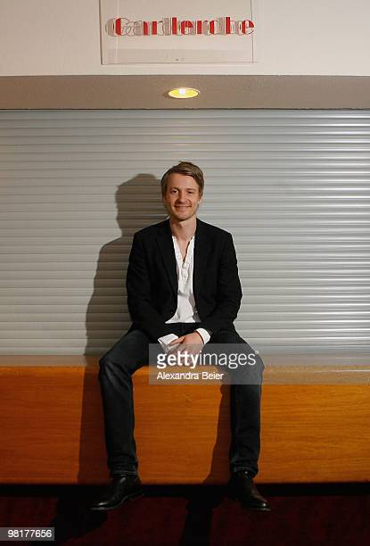 Actor Max von Pufendorf poses during the premiere of his new film 'Waffenstillstand' on March 31 2010 in Munich Germany