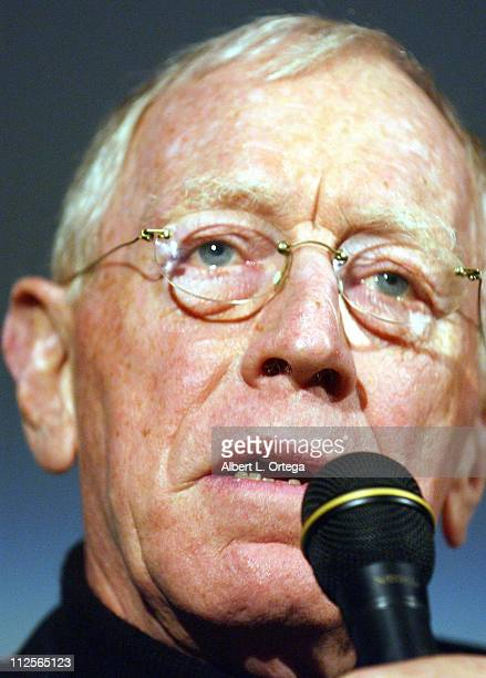 Actor Max Von Sydow honored by The American Cinematheque with a tribute at the Aero Theater on November 10 2007 in Santa Monica California