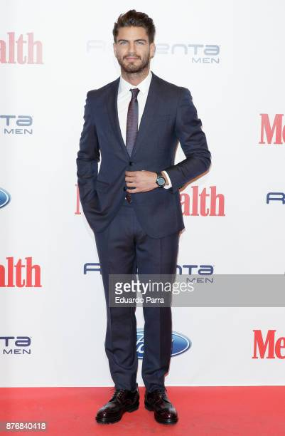 Actor Maxi Iglesias attends Men's Health 2017 Awards photocall at Goya theater on November 20 2017 in Madrid Spain