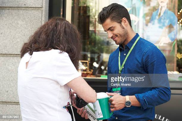 Actor Maxi Iglesias attends the AECC assessment day on June 1 2017 in Madrid Spain