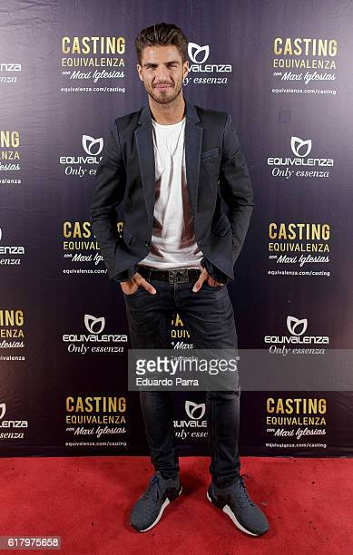 Actor Maxi Iglesias attends the 'Equivalenza casting' photocall at El Principito theatre on October 25 2016 in Madrid Spain