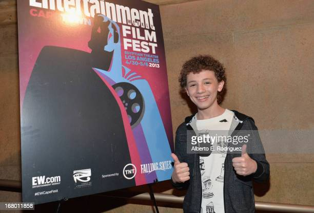 """Actor Maxim Knight attends Entertainment Weekly's CapeTown Film Festival presented by The American Cinematheque and sponsored by TNT's """"Falling..."""