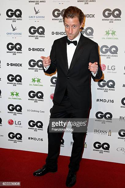 Actor Maxim Mehmet arrives at the GQ Men of the year Award 2016 at Komische Oper on November 10 2016 in Berlin Germany