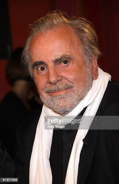 Actor Maximilian Schell attends the taping of the birthday show for singer Thomas Quasthoff on October 15 2009 in Berlin Germany