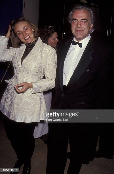 Actor Maximillian Schell and Natasha Schell attend 51st Annual Golden Globe Awards on January 23 1993 at the Beverly Hilton Hotel in Beverly Hills...