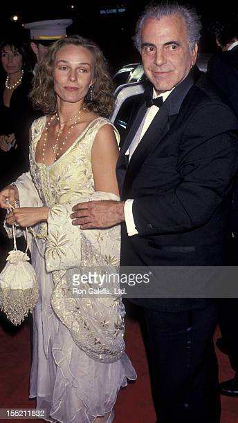 Actor Maximillian Schell and Natasha Schell attend 51st Annual Golden Globe Awards on January 22 1994 at the Beverly Hilton Hotel in Beverly Hills...