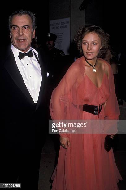 Actor Maximillian Schell and Natasha Schell attend Seventh Annual American Cinema Awards on January 27 1990 at the Beverly Hilton Hotel in Beverly...